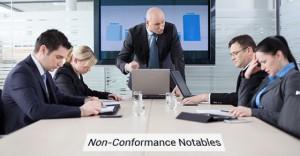 Non-Conformance Problems