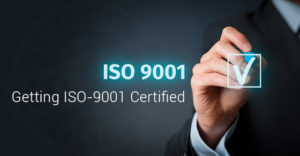 Getting ISO-9001 Certified